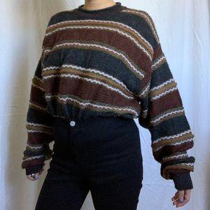 Vintage oversized alpaca wool sweater